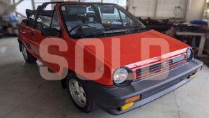 1985 Honda City Pininfarina